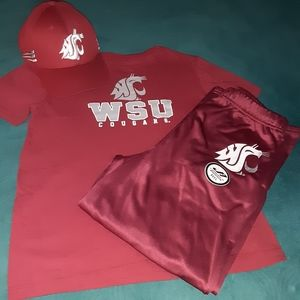 WSU 3pc boy outfit